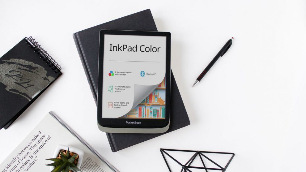 Brand New Pocket Book 7.8-inch e-reader ready to roll with latest E Ink Screen