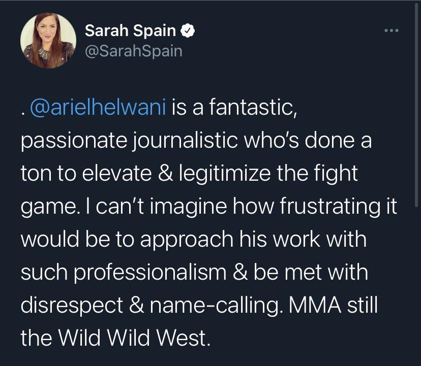 ESPN issues statement after Dana White criticizes Ariel Helwani