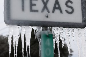 TEXAS Winter Death Increasing, Man body found Frozen in ICE