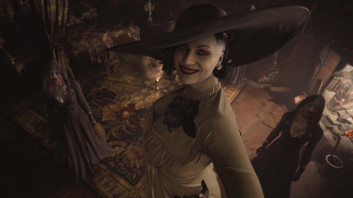 The nine-foot-tall Vampire lady winning the hearts of RE fanbase