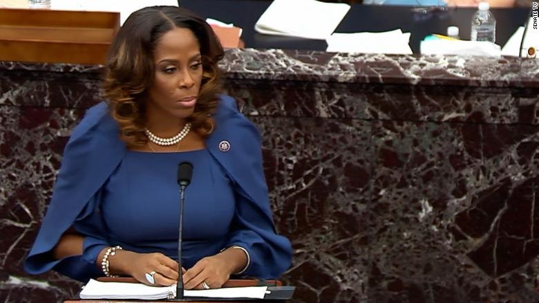 Stacey Plaskett's Convicts Trump for History |EDF