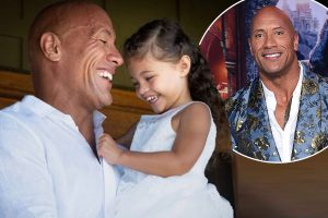 Dwayne Johnson pranks his youngest kid Tia. He makes her believe that he is actually a dinosaur