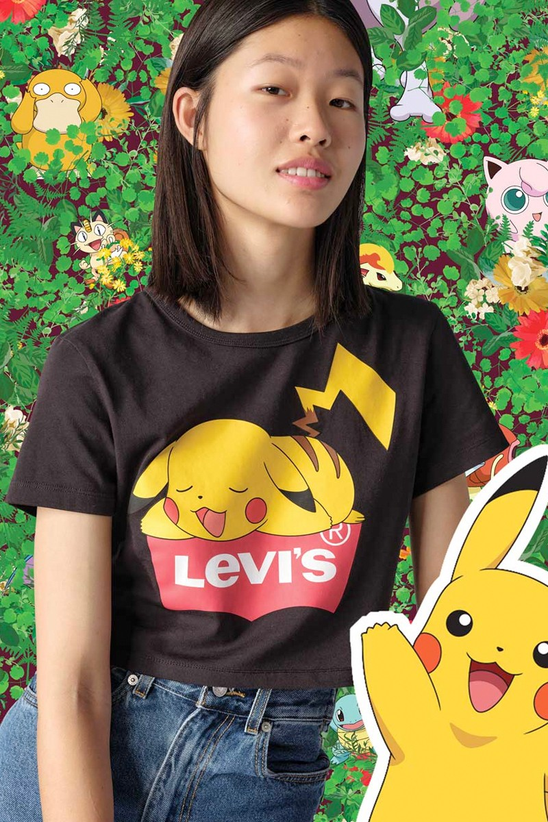 Pokemon x Levi's Collection price about to Ultra Drop