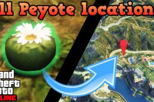 GTA 5 Peyote Plants Location: All Location and how to find