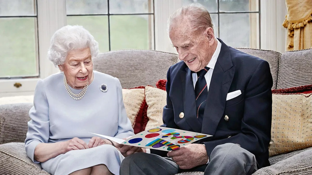 Queen Elizabeth II and Price Philip |EDF