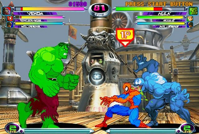 Marvel vs Capcom 2: New Age of Heroes Gameplay, Sequels, Characters