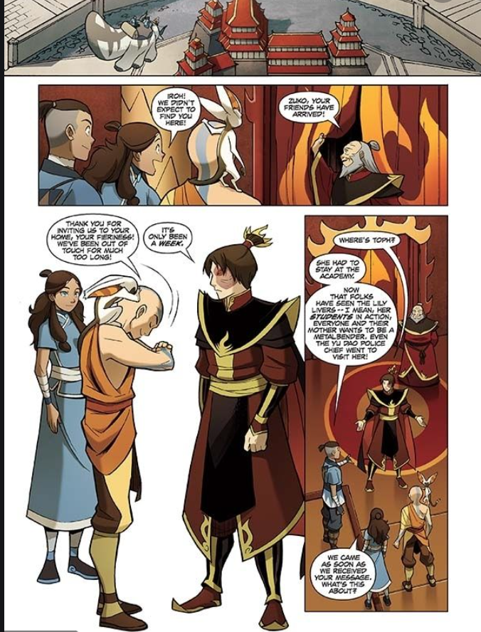 Avatar Comics : Insight into the Avatar Suki to be Released in June 2021