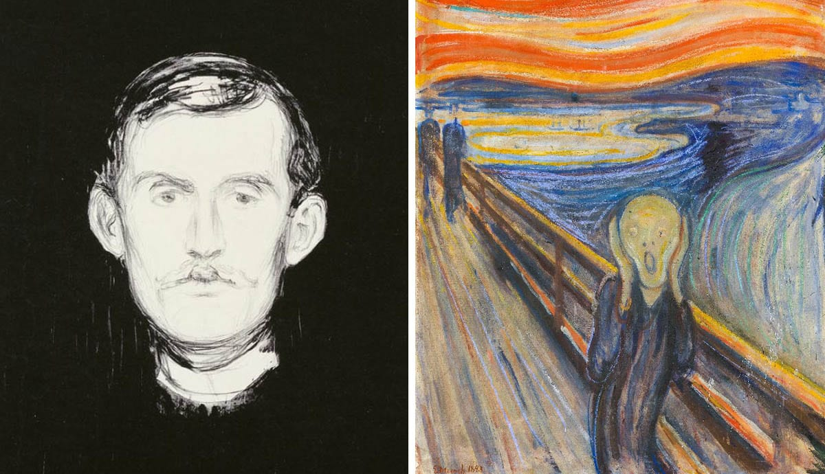 Researchers decode secret message written on Edvard Munch's The Scream