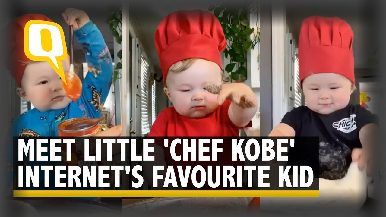 2-year old chef, the new Internet Sensation