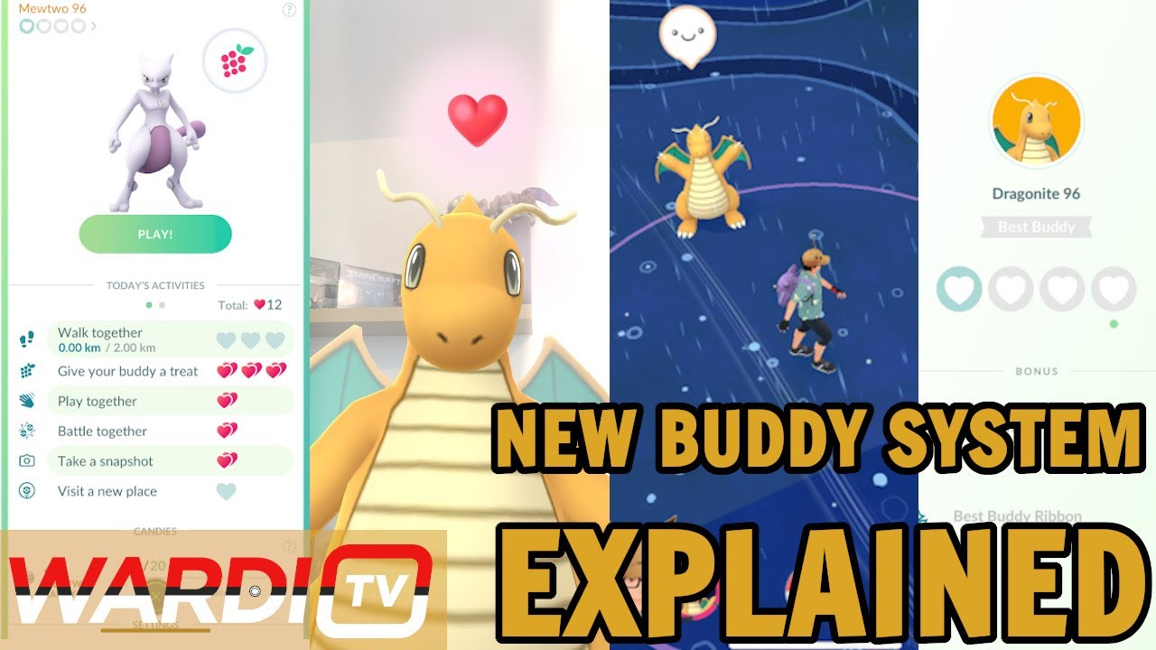 """""""Pokémon go buddy system"""" update and everything to know"""