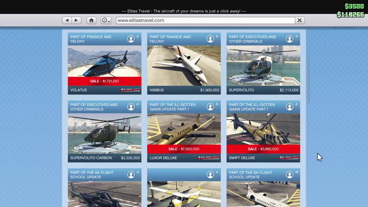 Top 10 In Game Website Of GTA 5: eyefind.info and more