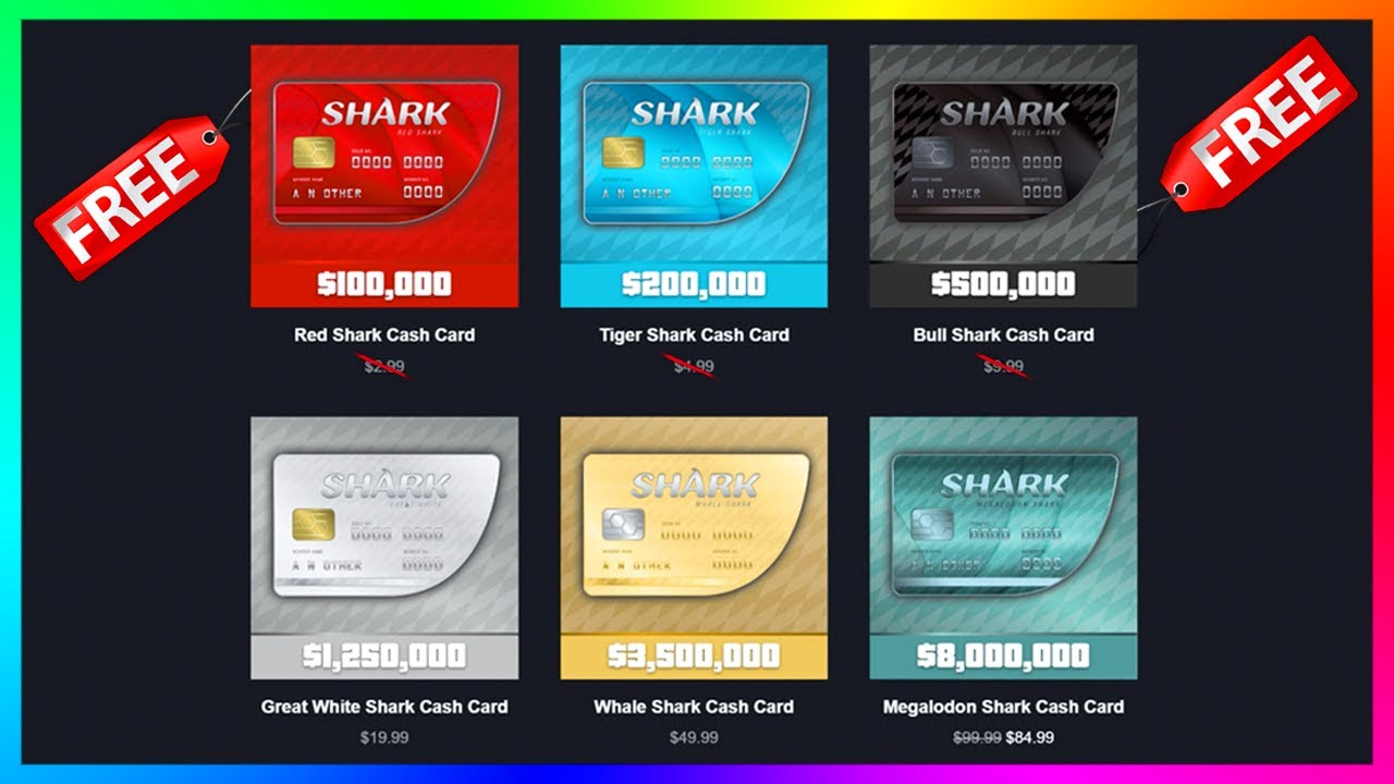 Where to Buy GTA Shark Cards: Price Offer and More
