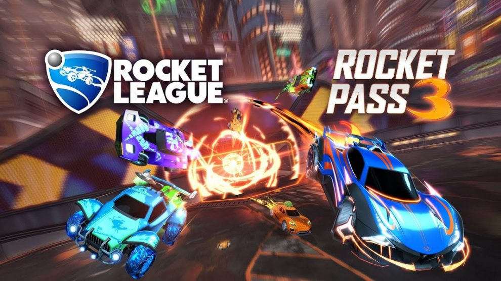 psyonix season 3 rocket legue