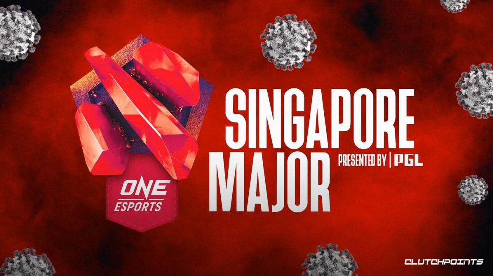 Dota 2 Major Singapore: 6 teams affected from COVI, Na'Vi and other team updates