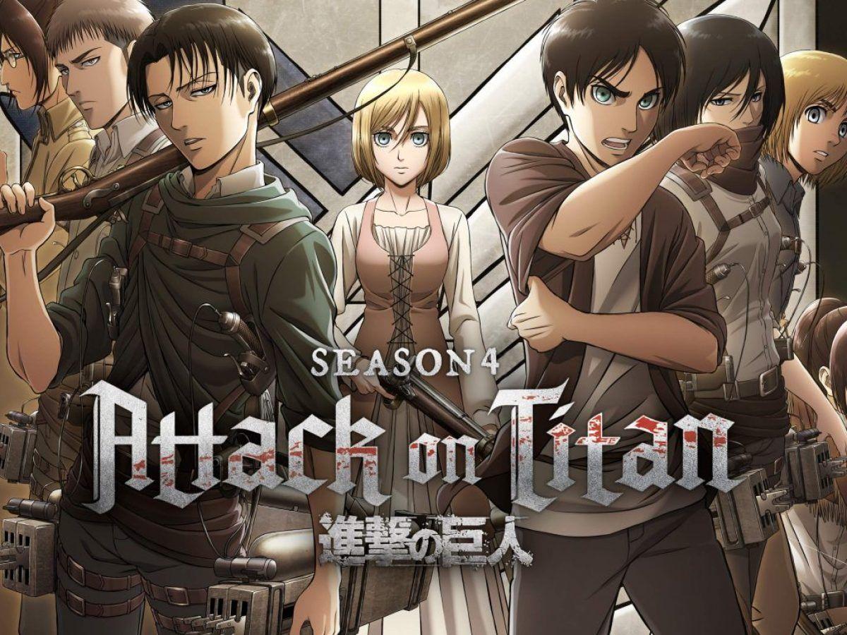 Attack on Titan Season 4 Release Date: Final Season Trailer