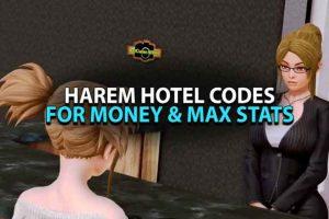 Harem Hotel Cheat Codes 2021 Latest Update