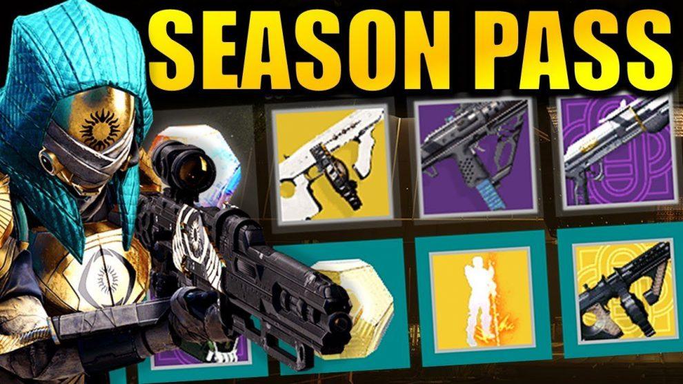 Destiny 2 Season Pass Full Guide