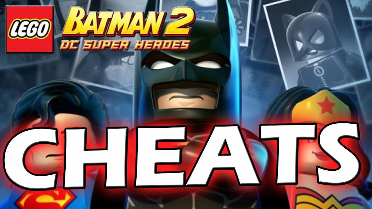 Lego Batman 2: DC Super Heroes Cheat Codes
