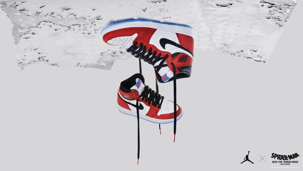 Spider-verse custom Jordon 1 released by Nike!