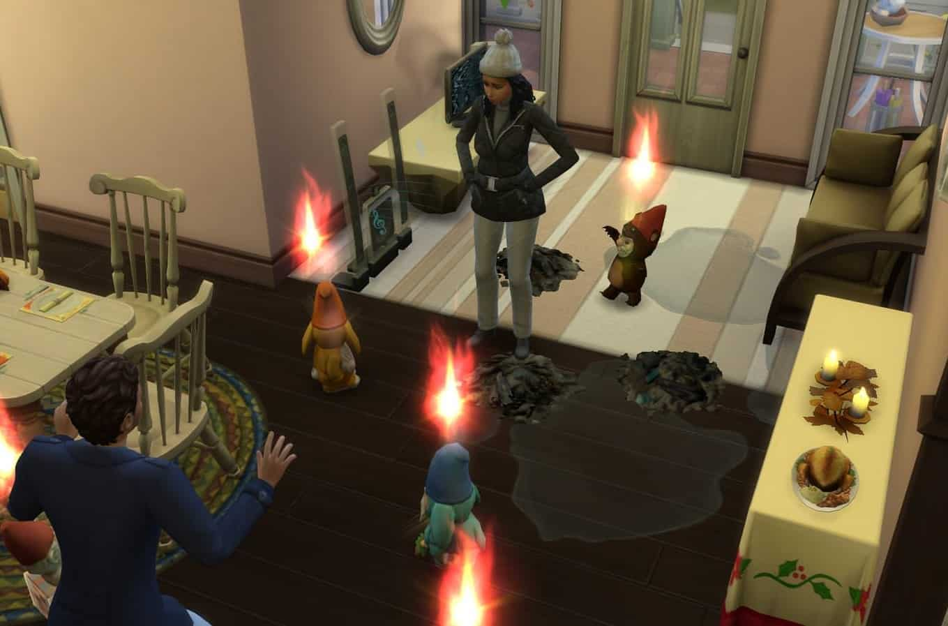 Sims 4 Appease The Gnomes