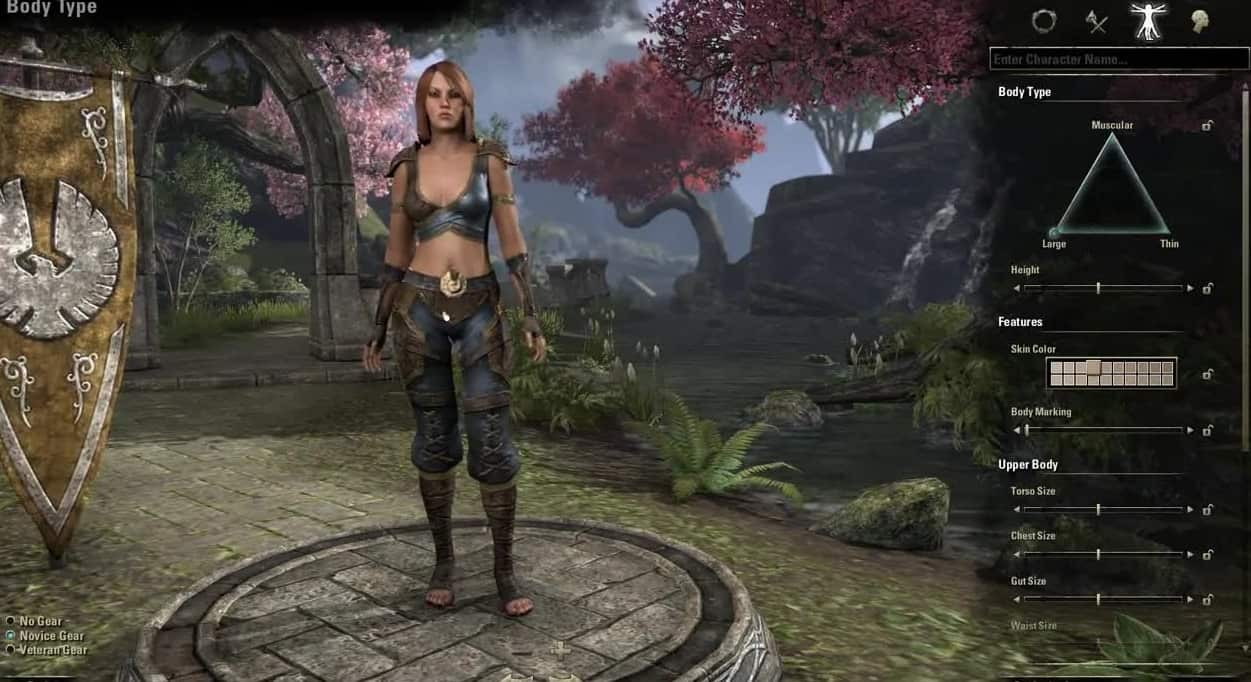 Best Character Creation MMO