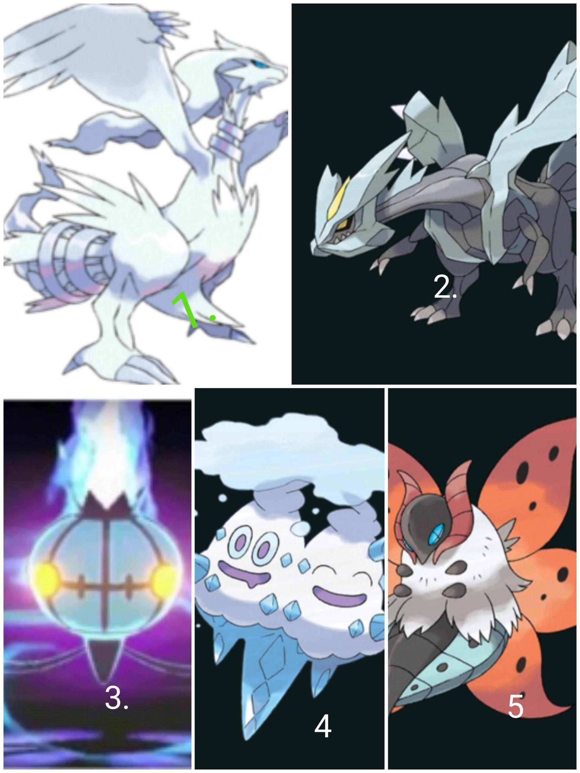 Top 5 Strong Pokemon in Black