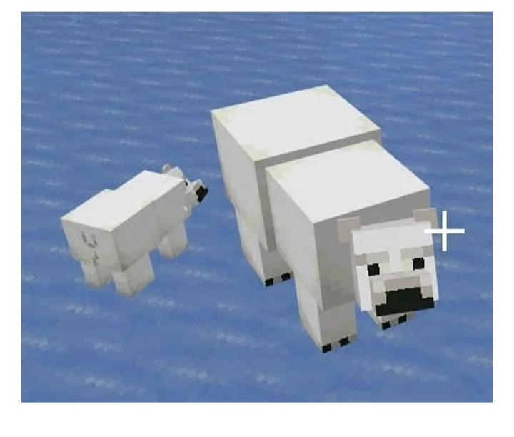 taming polar bears minecraft
