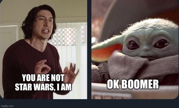 Kylo Ren Baby Yoda Meme