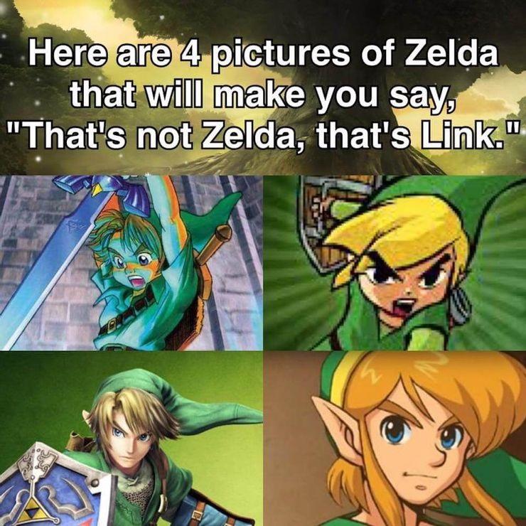 Link Zelda Meme