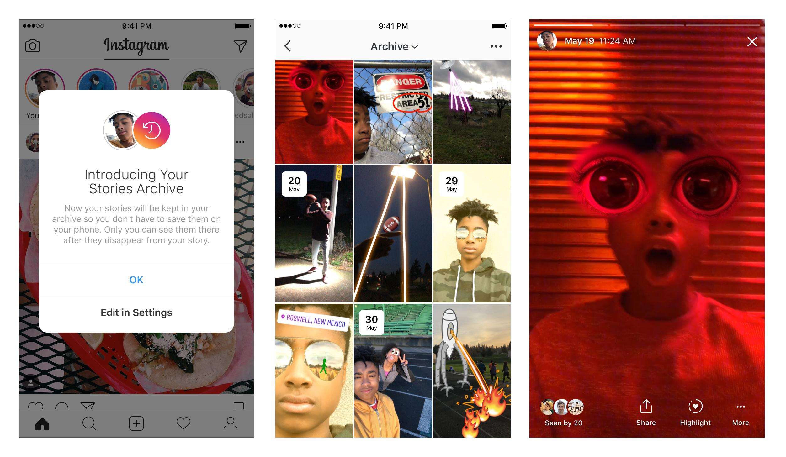 All Details Of Instagram Snapchat Feature Latest update