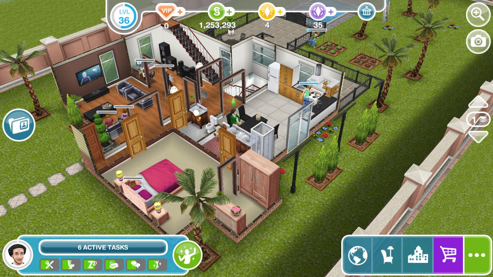 Money Cheat Codes for Sims Freeplay on Android