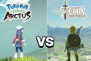 Pokémon Legends: Arceus and Legend of Zelda crossover?