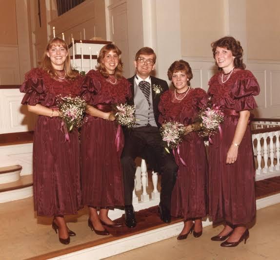 Obnoxious Bridesmaid Dress