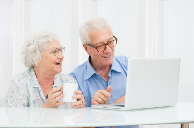 Old People And Internet