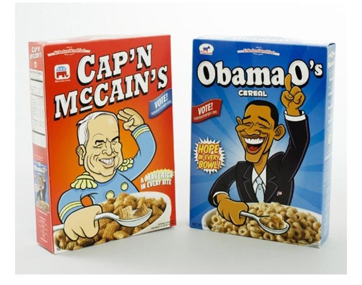 obama cereal