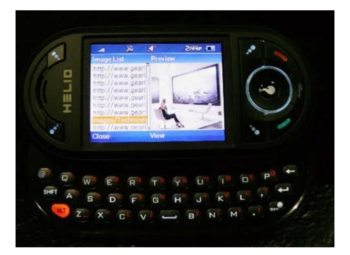 helio phone