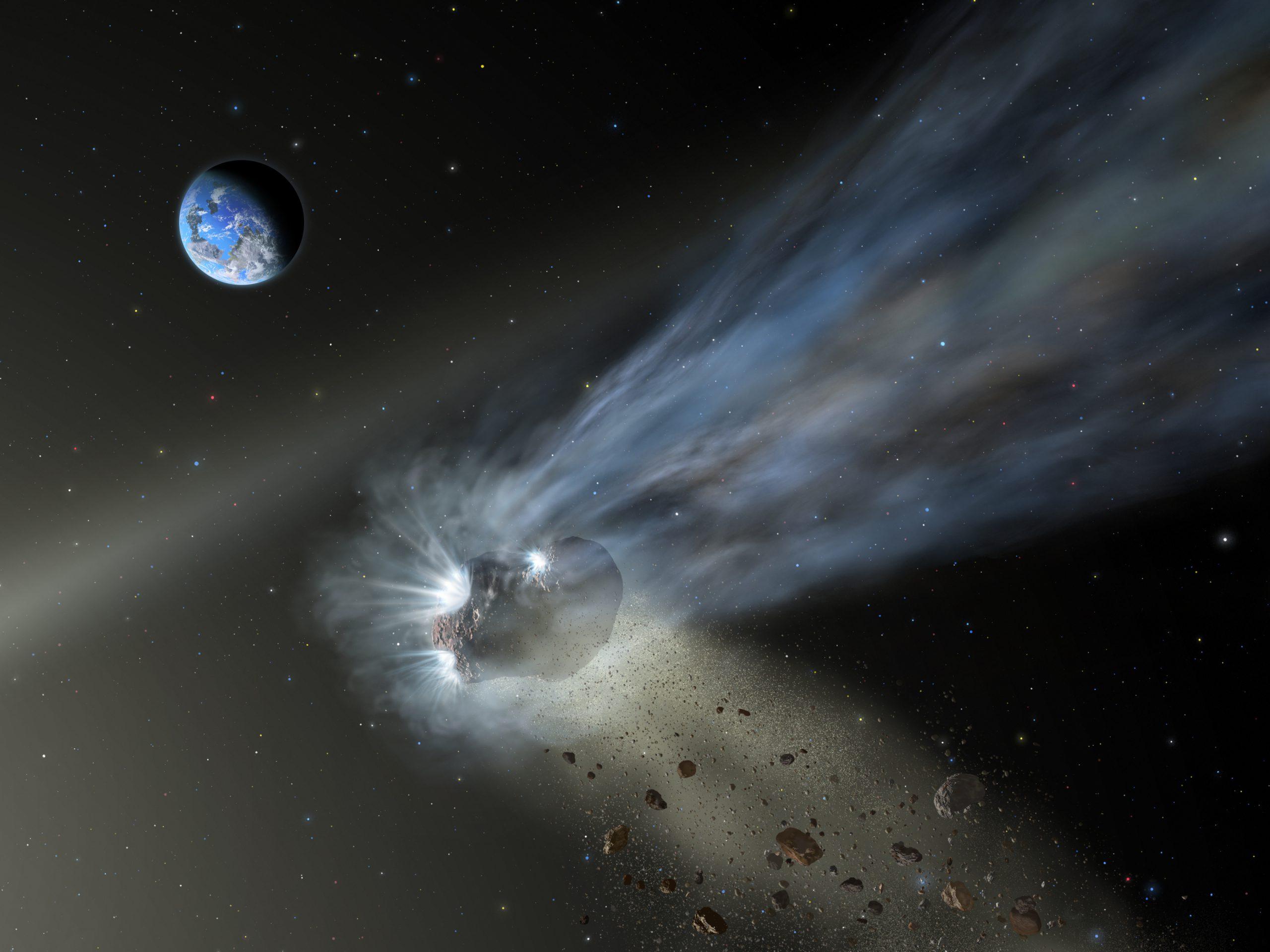 Comets GIF