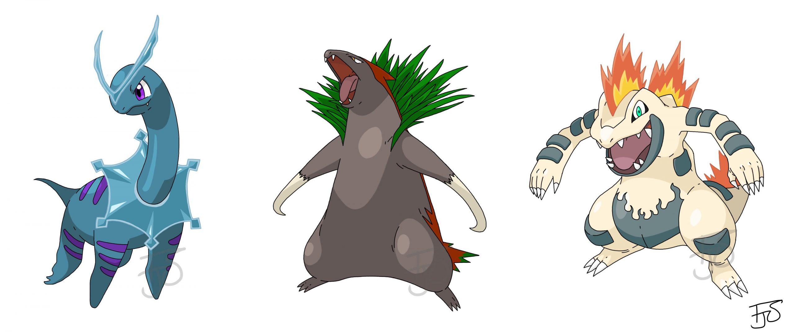 Pokemon Gen 2 Grass Types
