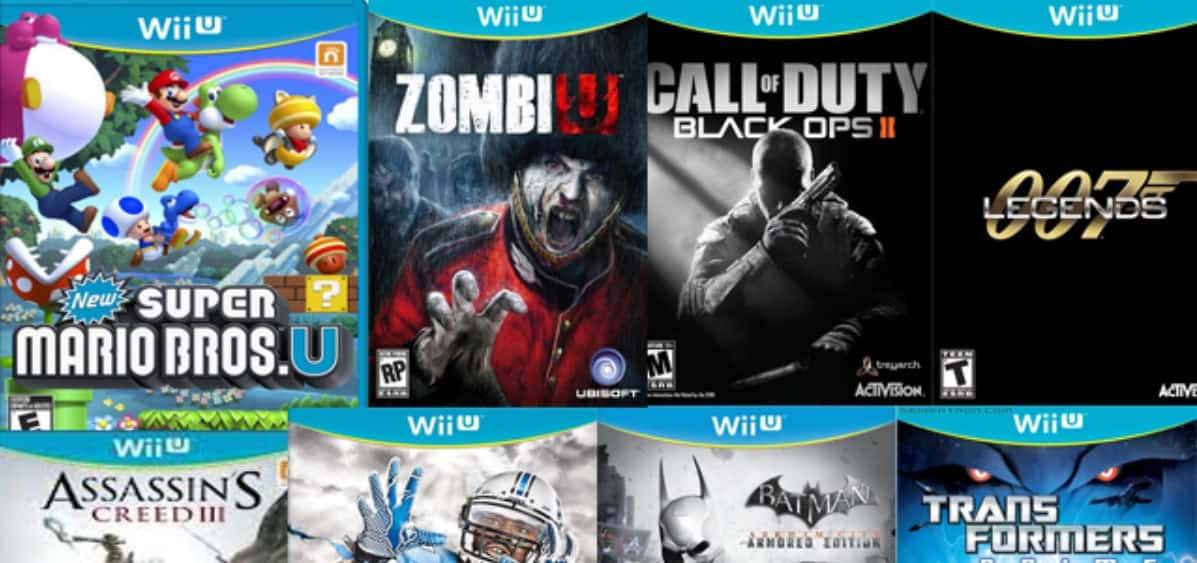 Nintendo Wii U Launch Titles Everything You Need To Know