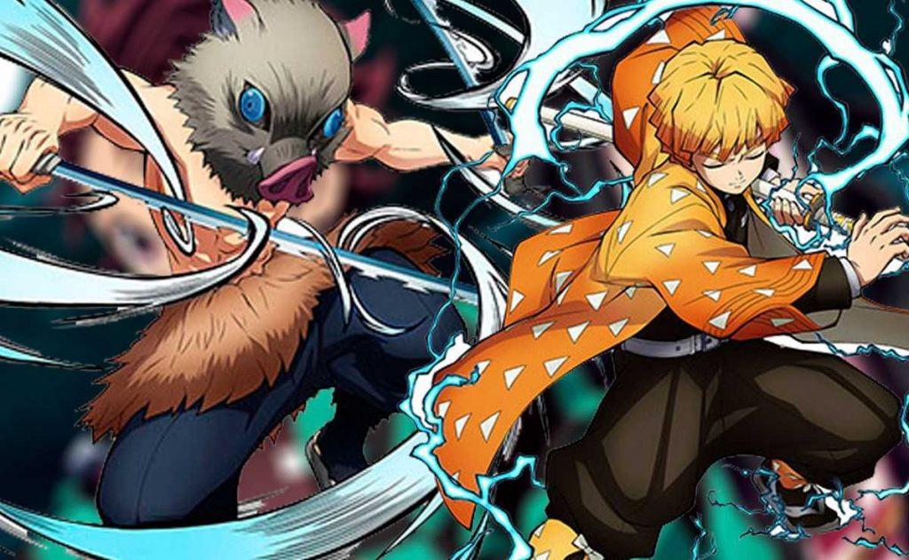 Demon Slayer Season 2: Zenitsu And Inosuke