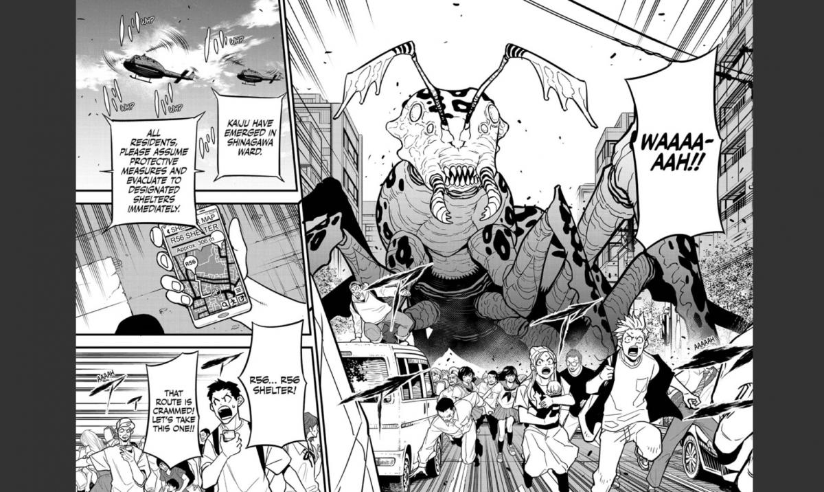 Kaiju No.8 Chapter 42