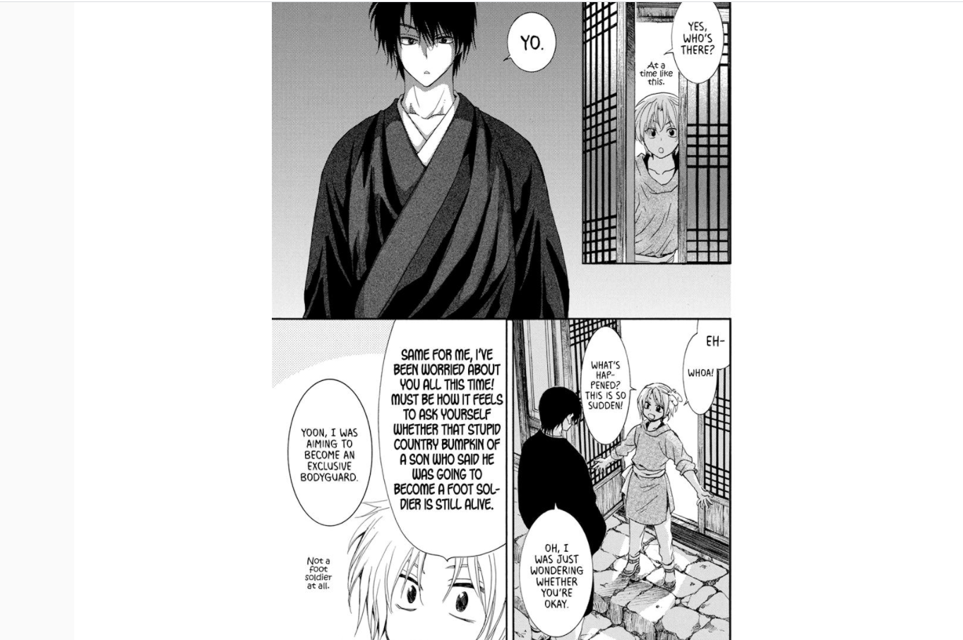 Yona of the Dawn chapter 212