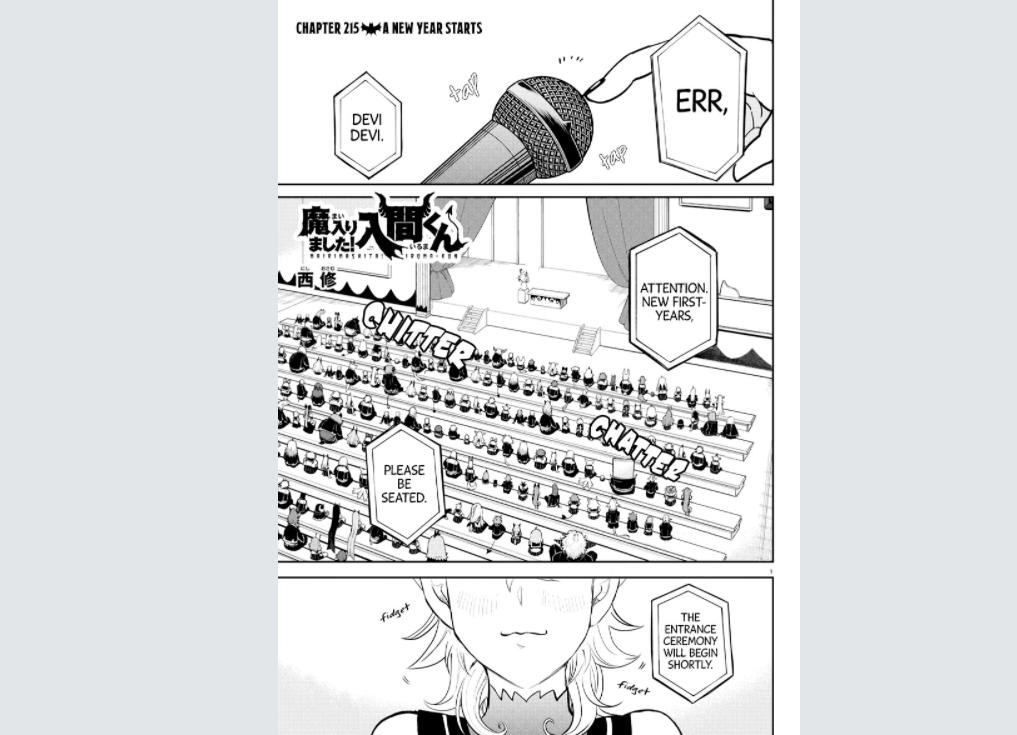 Iruma-Kun Chapter 216
