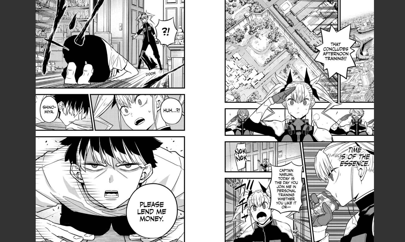 Kaiju No.8 Chapter 43