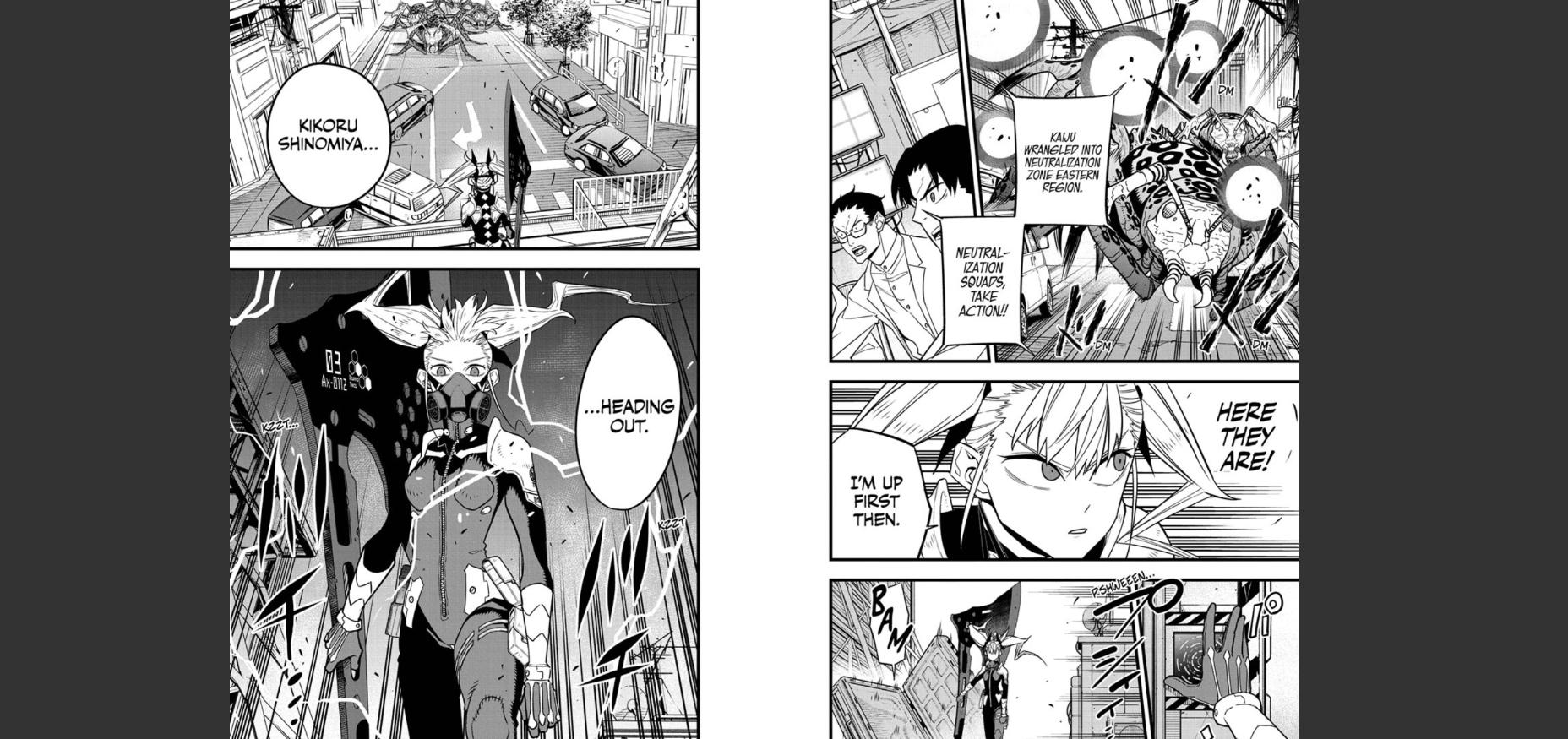 Kaiju No. 8 Chapter 43