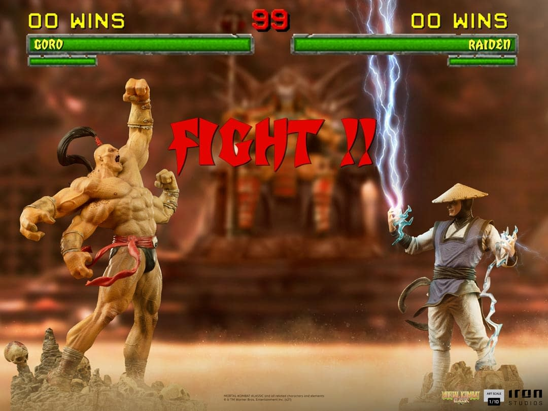 Raiden From Mortal Kombat
