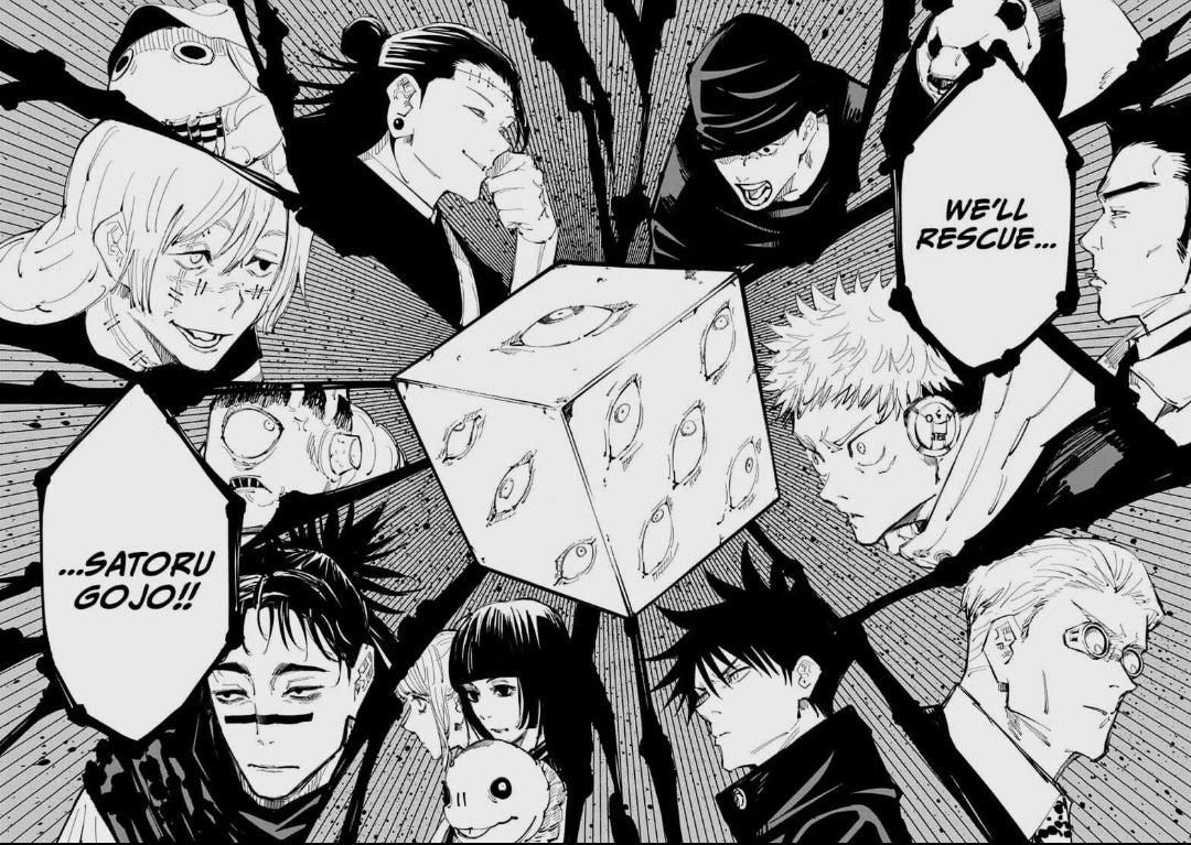 Jujutsu Kaisen Chapter 156