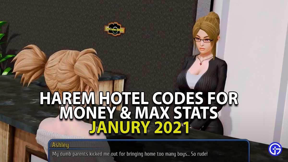 Harem Hotel: Cheat Codes