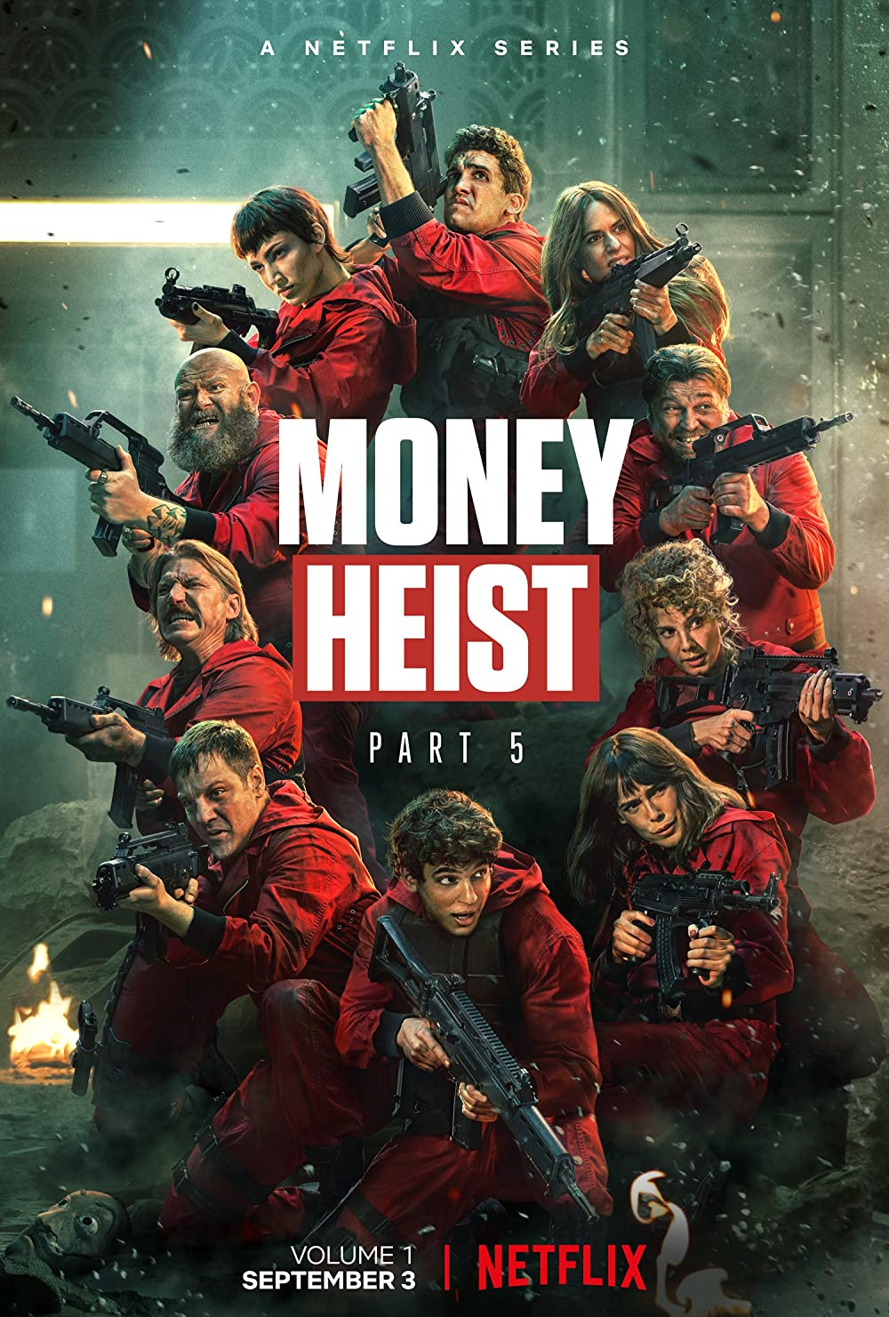 Don't miss out on Money Heist Season 5 Part 1    Everything you need to know  