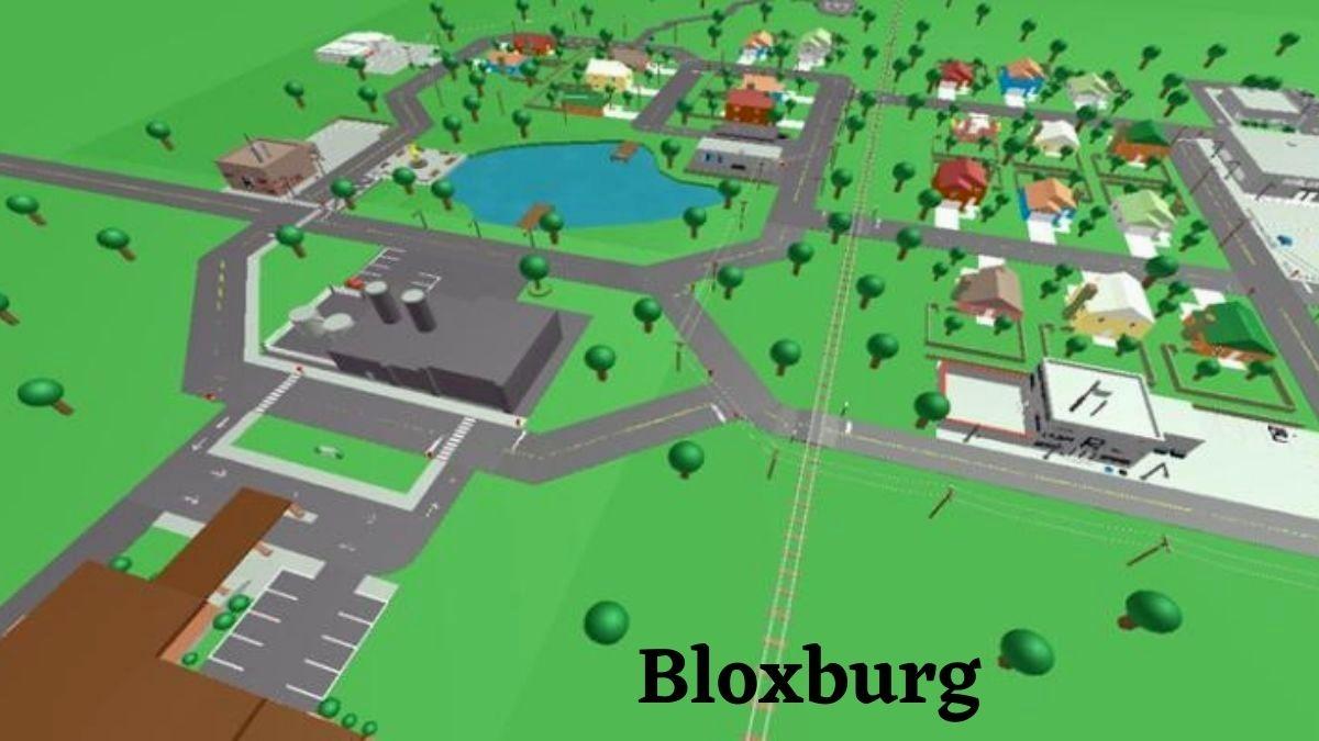 Welcome To Bloxburg